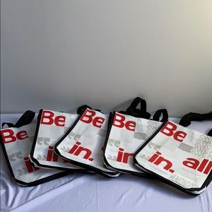 Set of 5 New Lululemon Be All In Bags